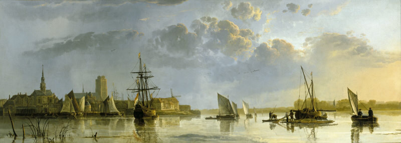 Cuyp-View-of-Dordrecht-from-the-North