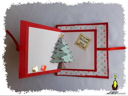 ART 2012 12 sapin origami et pop-up 2