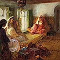 frederick-arthur-bridgman-american-painter-1847-1928-the-harem