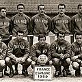 17 décembre 1959 FRANCE-ESPAGNE ... MATCH AMICAL