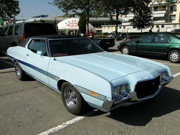 ford gran torino hardtop coupe 1972 a