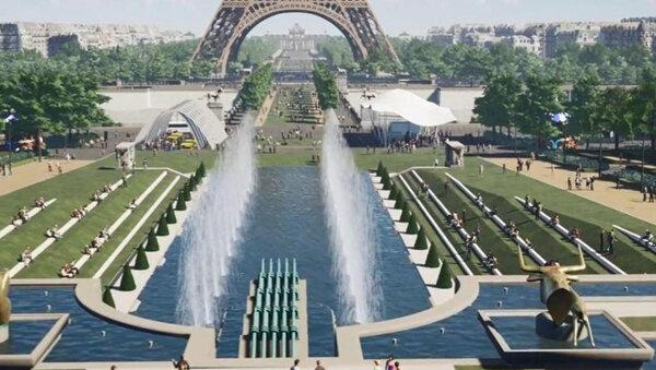 Du Trocadéro au Champ de Mars … « le Grand Site Tour Eiffel »