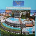 Vue du complexe hôtelier