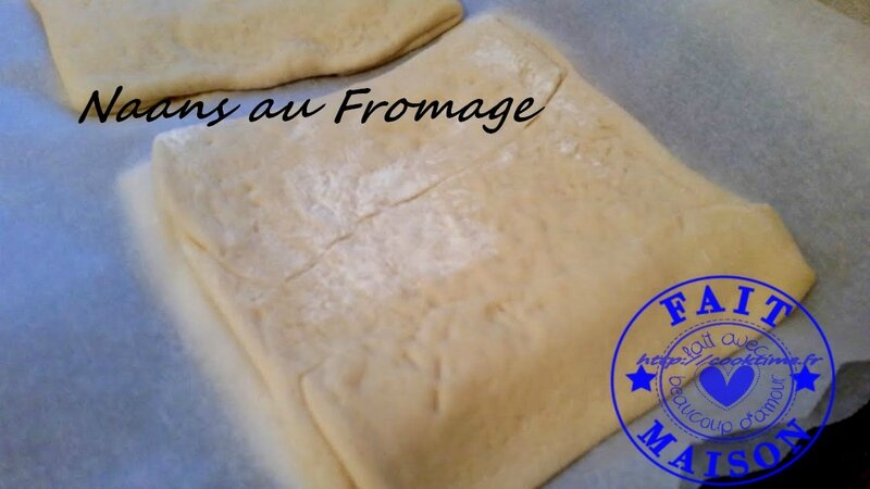 Naans au fromage 4