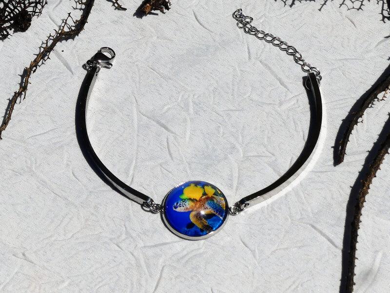 bijoux colores made in guyane par louise indigo tortue bleue (14)