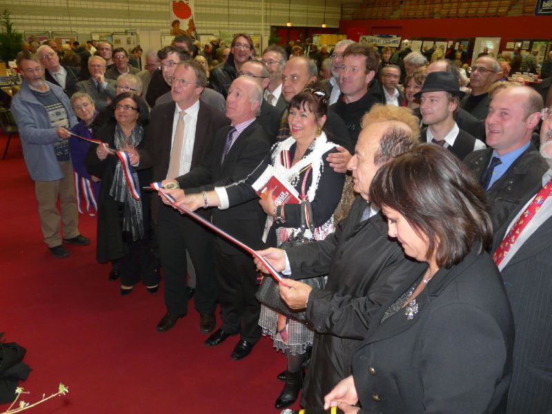 L'inauguration du Salon