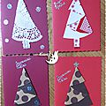 Cartes Home Made Fêtes 2015 16