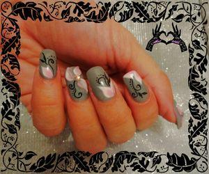cadre nail art