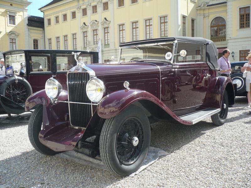 DELAGE type DS cabriolet 1931 Ludwigsburg (1)