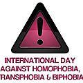 Journée contre homophobie