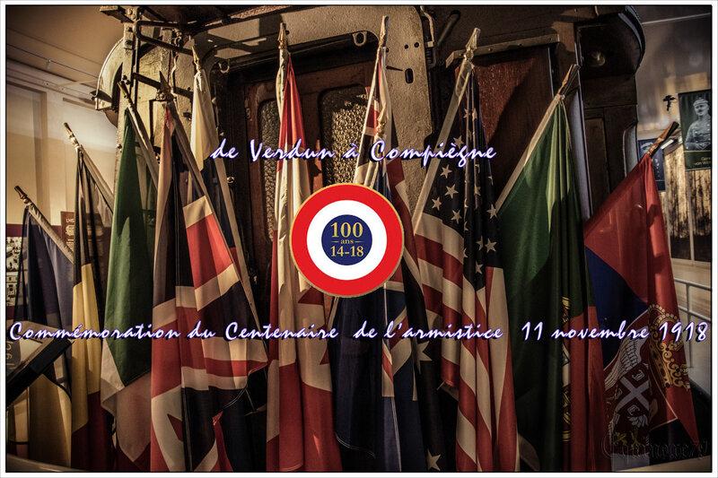 Wagon Compiègne Armistice 14-18 centenaire