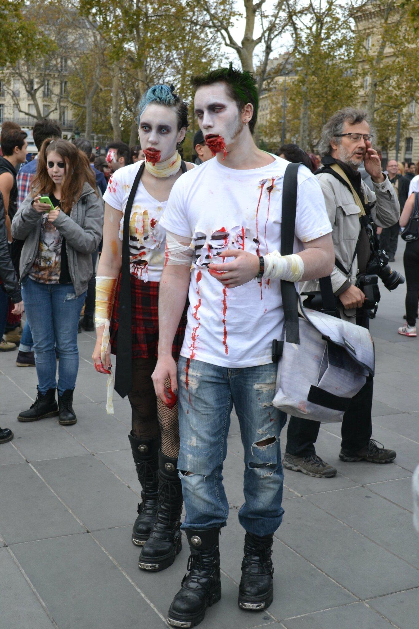 Zombie Walk Paris 2014 by Nico (7)
