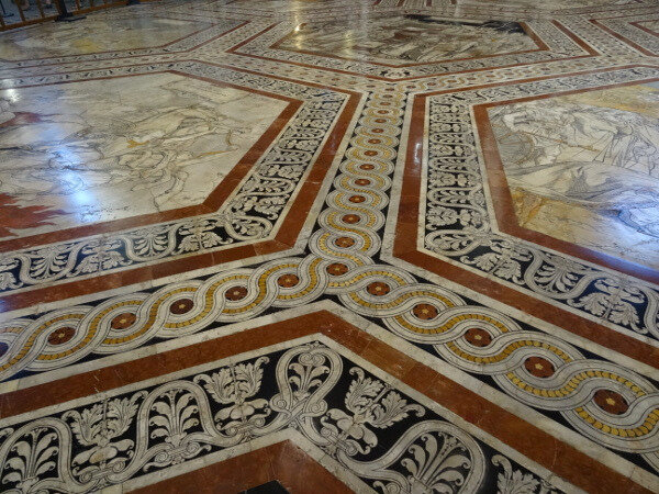 Pavement cathédrale Sienne 1