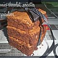 Brownie chocolat,noisette et spéculoos