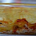 Lasagnes thon tomates et ricotta