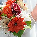 gros plan de mon bouquet