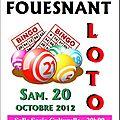 Prochaine étape ... le loto du 20 octobre.