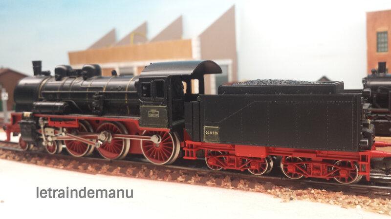 letraindemanu (726) locomotive à vapeur 230 F SNCF ex P8