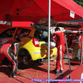 2009: Rallye Terre de Langres/Arrivée et Assistance