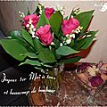 Bouquet 1er mai 2013 Albert & Michelle2