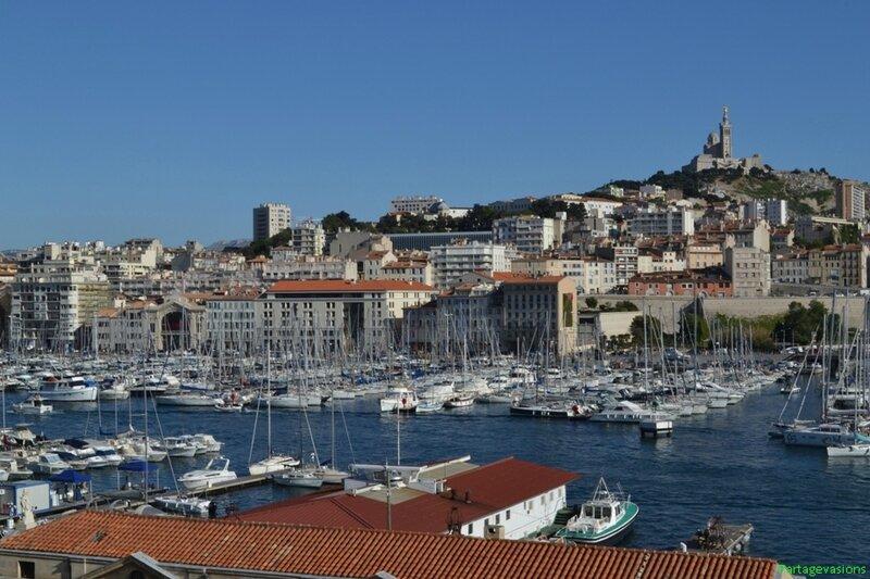 Vieux port et Notre-Dame de la Garde_GF