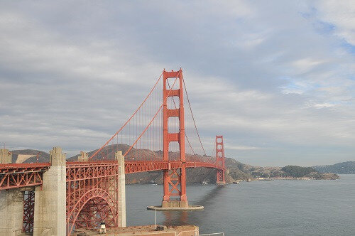 Golden Gate Bridge pour se diriger Nord