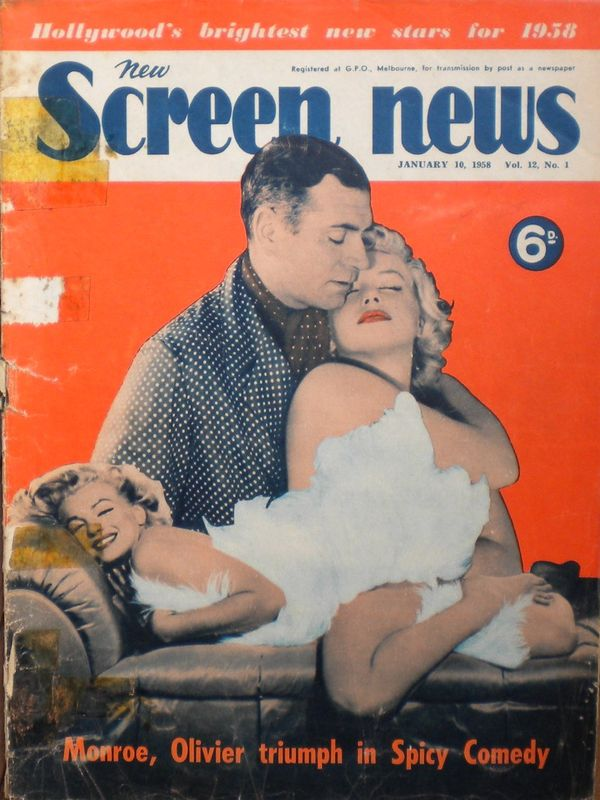 Screen news 1958
