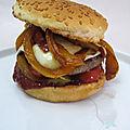 Burger tex-mex
