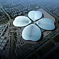 Le plus grand complexe d'exposition du monde sera à shanghai !