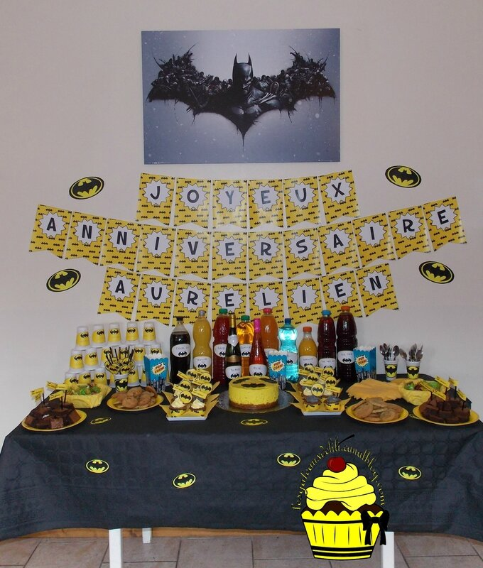 2015 11 14 - Sweet Table Batman (6)