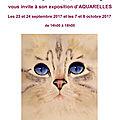 Exposition mont saint-aubert ( belgique ) du 23,24 septembre et 7,8 octobre 2017