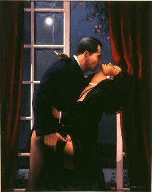 Jack Vettriano : Night geometry
