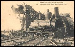 tamponnement locomotive