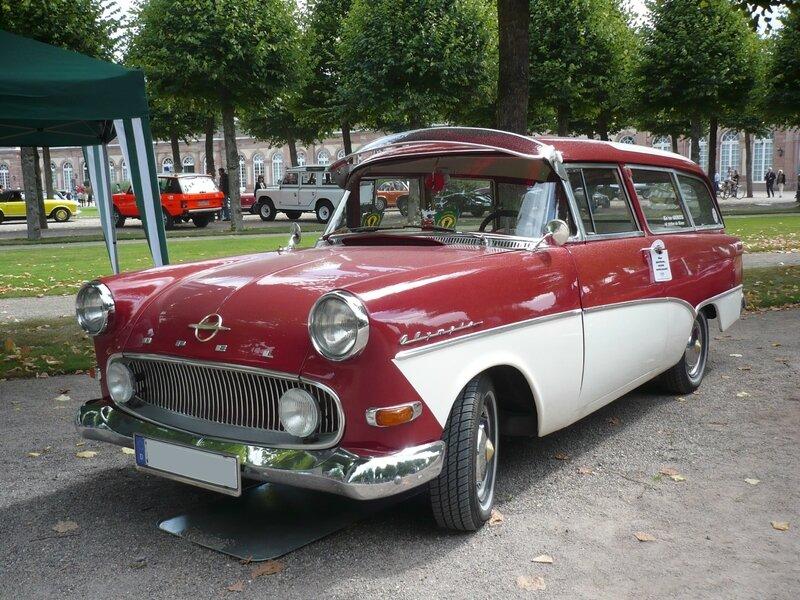 OPEL Olympia Rekord P1 Caravan 1959 Schwetzingen (1)