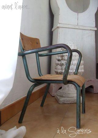 petite chaise vintage