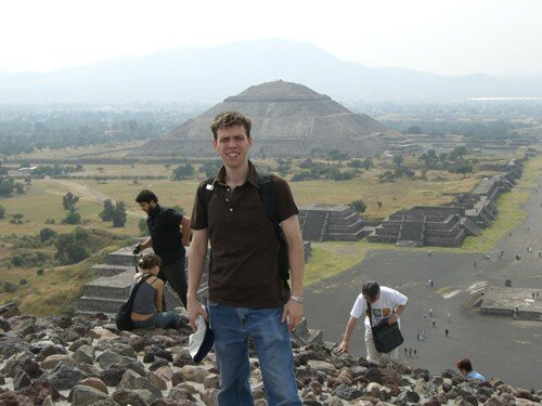 Teotihuacan - Top of Pyramid of the Moon