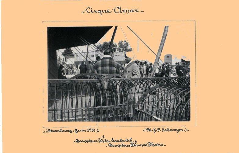 cirque amar-Victor Soulevitch-dompteur - Copie