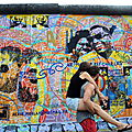 BERLIN, East Side Gallery, fresque d'Hervé Morlay (Allemagne)