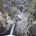 Des élèves de l'as montagne dans le canyon du llech (pyrénées orientales)