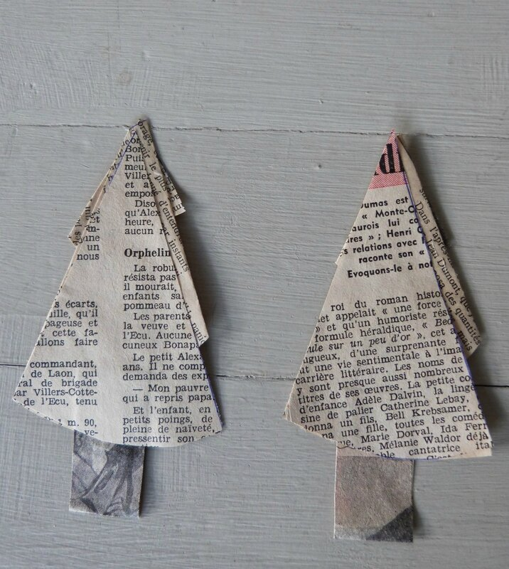 Christmas Tree papier ancien (6)