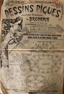 Dessins piqués n° 320 - 15 mai 1927 (1)