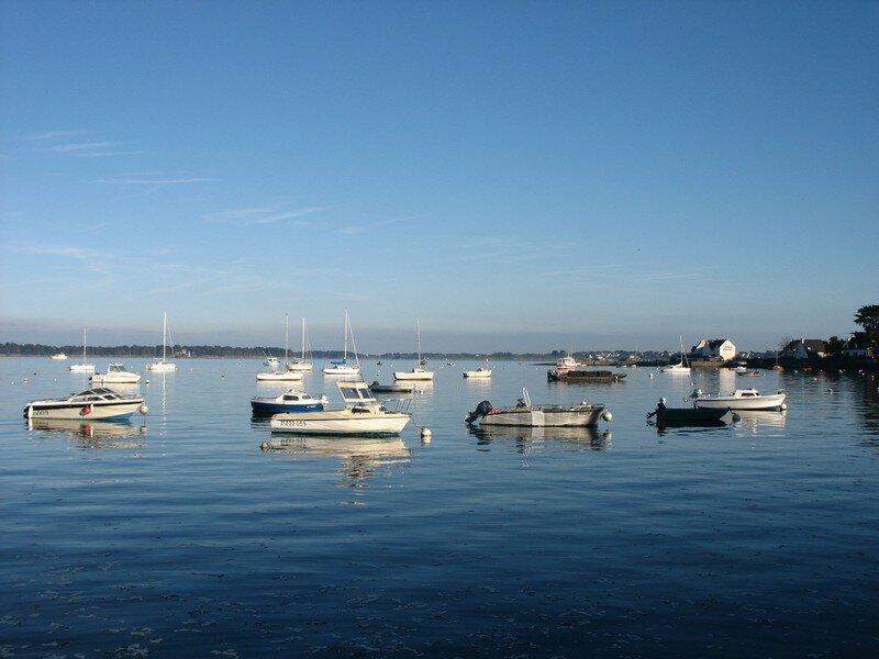 Locmariaquer, entrée du Golfe du Morbihan (56)