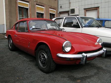 TRIUMPH GT6 Mk II 1969 Critérium de la Vallée de la Bruche AMEDEE GORDINI 2011 1