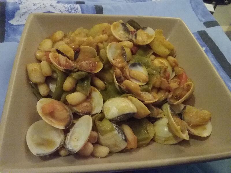 Palourdes aux haricots blancs 1