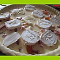 Tarte aux abricots sec et fromage de chèvre