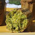Le cake aux herbes...tout vert