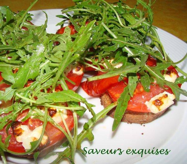 pain tomate feta