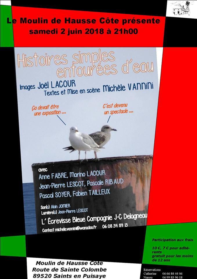 2 Juin au Moulin de Hausse Côte, place aux histoires....