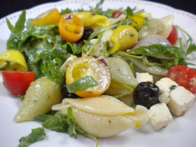Salade de pâtes à la grecque 5