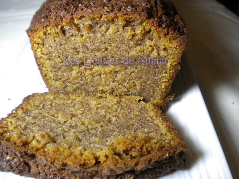 Cake moelleux et fondant à la farine de châtaignes 4